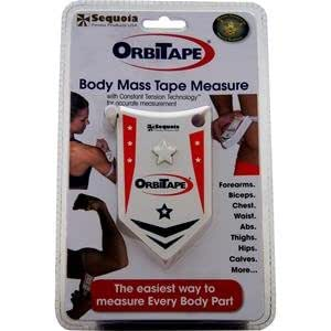 Sequoia Fitness OrbiTape Body Mass Tape Measure