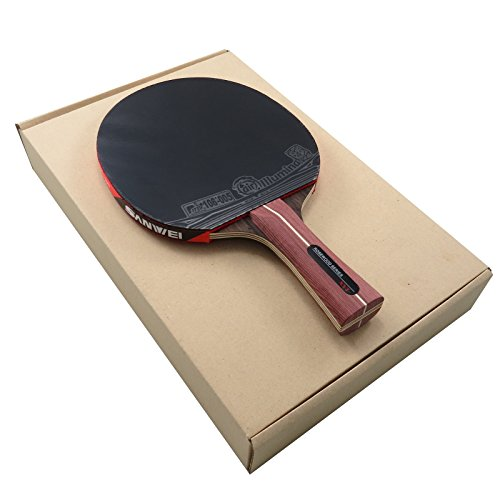 XVT Ebenholz7 Ebony outer ply Air Illumina Table Tennis Racket Free Racket Cover