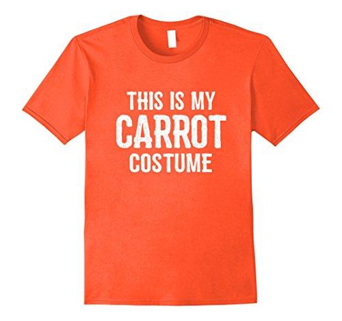 Mens Carrot Costume Shirt - Funny Easy Halloween Costumes Large (Funny Group Halloween Costumes For Guys)