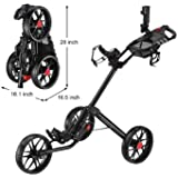 Caddytek Super Deluxe Quad Fold Golf Cart