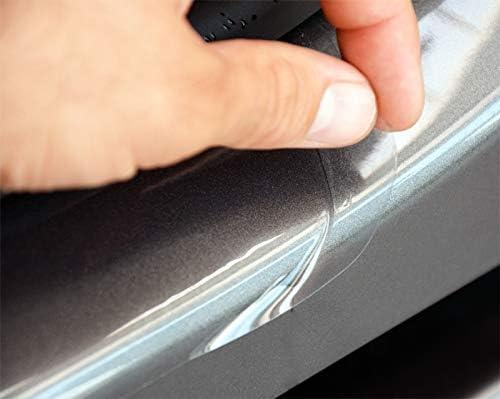 WGS Einstiegsleisten Einstiegssutz Lackschutzfolie Schutzfolie Transparent Extra Stark 240/µm 2048-107