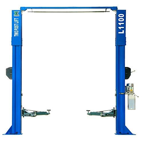 XK USA QYS 10,000lb Capacity Car Lift L1100 2 Post Lift Car Auto Truck Hoist Overhead 10000 Lbs Capacity Two Post