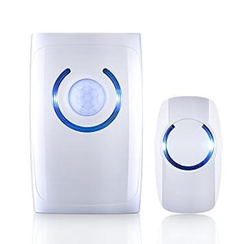 [Versión Multifuncional]VicTop® Timbre Inalámbrico con Sensor de PIR y Luces de Sensor
