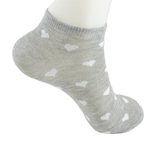 Female 1 Pair Grey Cotton Casual Socks Warm Winter Women Floor Length Sock Lady Girls Gift #555 B at Amazon Womens Clothing store:
