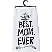 Primitives by Kathy 29117 Lol Cotton Dish Towel, Best.Mom.Ever