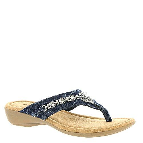 Minnetonka Sable Women's Sandal 13 B(M) US Acid-Denim