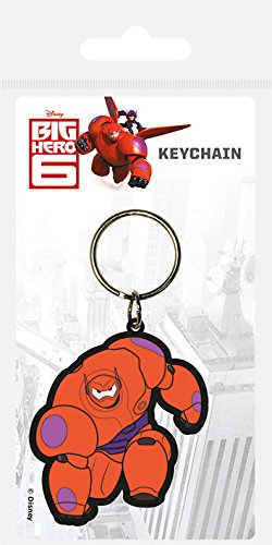 (Disney Big Hero 6 Baymax Rubber Keychain by)