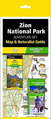 Zion National Park Adventure Set: Map & Naturalist Guide