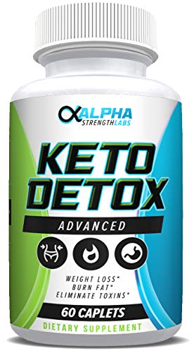 Keto Detox Cleanse Weight Loss - Advanced Colon Cleanser - Flush Excess Waste - Weight Loss Supplement for Women & Men - All-Natural Ingredients - 60 Caplets