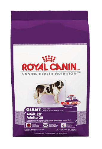 Royal Canin Dry Dog Food, Giant Breed Adult 28 Formula, 35-Pound Bag