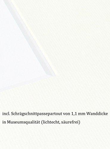 OSLO MasterLine Passepartout Au/ßenma/ß 30x40 6 Ausschnitte 2X 10x10-1x 15x15-2X 10x15-1x 10x15 lichtecht und s/äurefrei