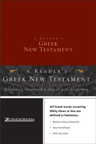 A Reader's Greek New Testament