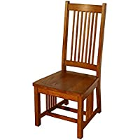 Mission Hills Collection MH-CH320 Spindle Solid Oak Chair