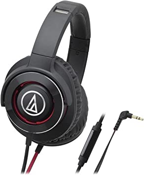 Audio-Technica Solid Bass® Over-Ear Headphones with in-line
