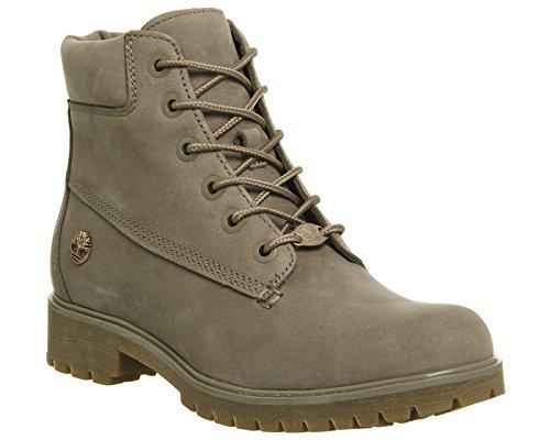 Timberland 6 Inch Premium Damen Boots Pine Bark Nubuck