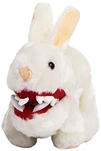Toy Vault Mini Rabbit Plush with Big Pointy Teeth Plush