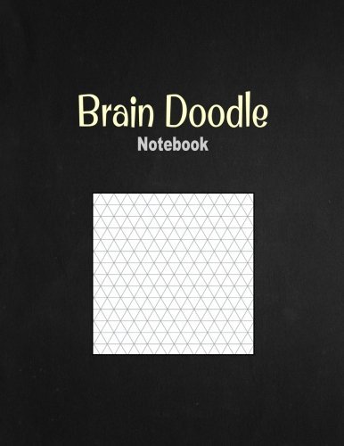 """Brain Doodle Notebook: 1/3"""" Isometric Graph Ruling, 100 Pages ebook"""