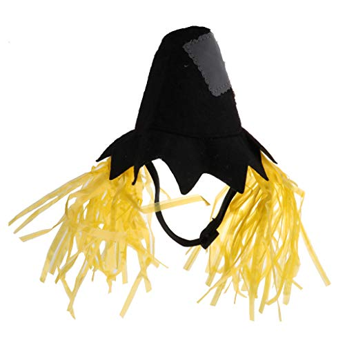 Flameer Pet Halloween, Easter, Theme Party Scarecrow Hat Costume for Dog and Cat - L -