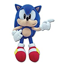 Great Eastern GE-7088 Sonic The Hedgehog 8-Inch Classic Sonic Plush