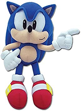 Amazon Com Great Eastern Sonic The Hedgehog Classic Sonic 9 Plush Toys Games