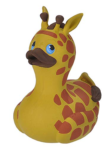 - Wild Republic Rubber Ducks, Bath Toys, Kids Gifts, Pool Toys, Water Toys, Giraffe, 4