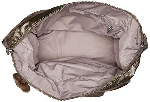 Body Bag Kipling Pewter Metallic Cross Erica qwTxERSCw