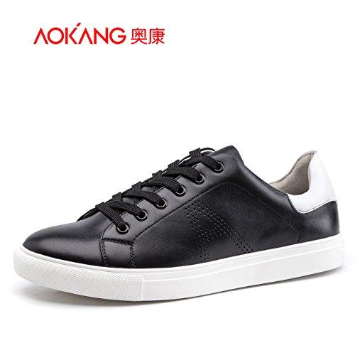 Scheda Aemember Scarpe Uomo Scarpe Casual Scarpe Uomo quotidianamente le scarpe per il tempo libero scarpe scarpe bianco ,38, Black-And-White 165011155
