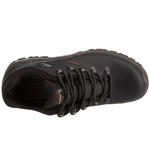 Grisport CMG477 - Zapatillas de senderismo de cuero para mujer Negro