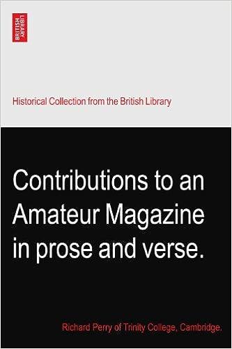 contributions amateur
