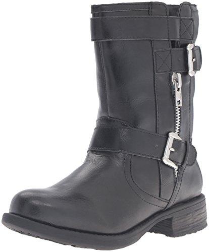 Rampage Women's Raddle 2 Combat Boot - Black - 7 B(M) US