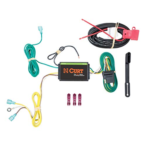 (CURT 56262 Vehicle-Side Custom 4-Pin Trailer Wiring Harness for Select Lincoln MKC)