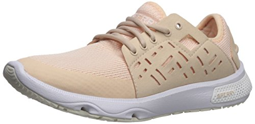 (SPERRY Women's 7 Seas Sport New Mesh Sneaker, Light Pink, 7 Medium US)