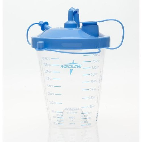 Suction Canister 800cc, 10/BX