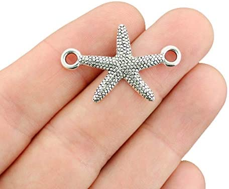 set of 5 Starfish Connectors Star Fish Connector Starfish Connector