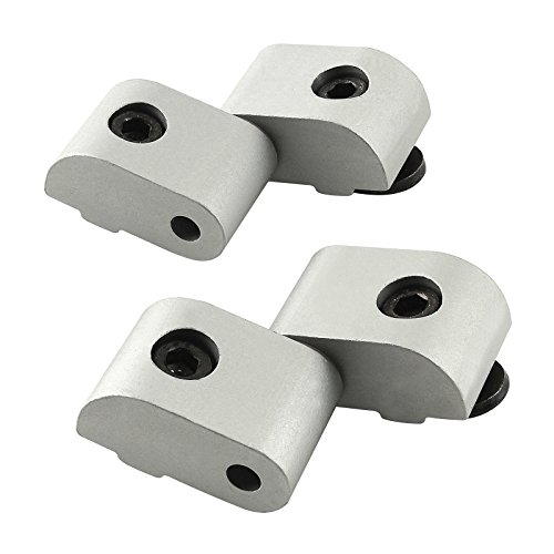 80/20 Inc., 2065, 10 Series, Left Hand Lift-Off Hinge Assembly, Long Pin Top, Short Pin Bottom -