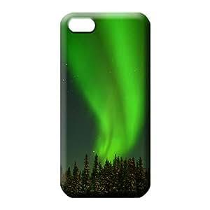 iphone 5c mobile phone case Unique Collectibles Protective colorful aurora polar light polarization