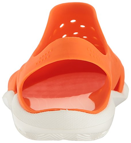 Crocs Mens Swiftwater Wave Orange / Vit