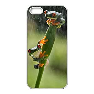 Frog Unique Fashion Printing Phone Case for Iphone 5,5S,personalized cover case ygtg531242