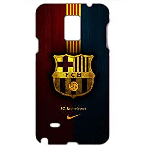 FC Barcelona Dark Color Famous Logo Charming Phone Case for Samsung Galaxy Note 4