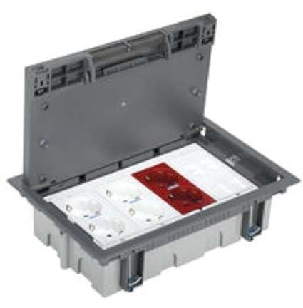 Simon 52006401-030 - Kit Caja De Suelo Sai Simon 500 Cima 4 Módulos Con