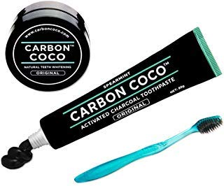 CARBON COCO ULTIMATE CARBON KIT (TOOTHPASTE & POLISH & TOOTHREUSH) (Kit Carbon)