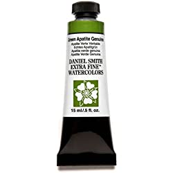 Daniel Smith Extra Fine Watercolor 15ml Paint Tube, Green Apatite Genuine