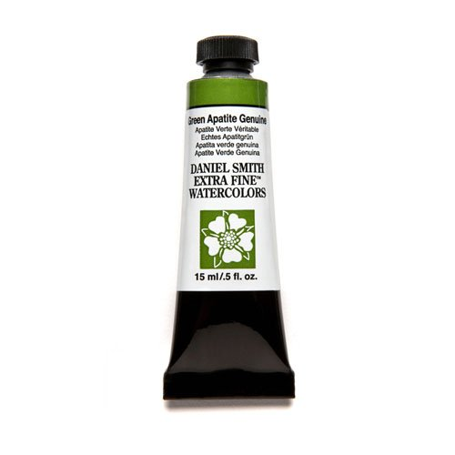 Daniel Smith 284600197 Extra Fine Watercolor 15ml Paint Tube, Green Apatite Genuine