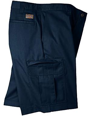 Men's 7.75 oz. Premium Industrial Cargo Short, OS, DK NAVY 29