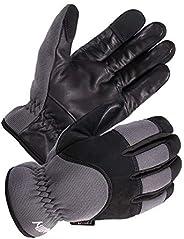SKYDEER Genuine Leather Hybrid Winter Gloves with Fleece Insulation (SD2240T)