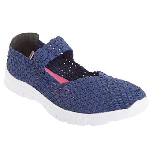 Dek Superlight Femmes / Dames Chaussures Dété Élastiques Violet / Multicolore
