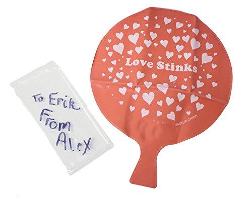 Whoopie Cushion Unique Valentines Day Cards for Kids - 1 Dozen