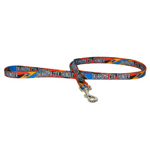 NBA Oklahoma City Thunder Pet Lead, Team Color, Small