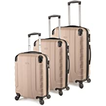 TravelCross Chicago Luggage 3 Piece Lightweight Spinner Set