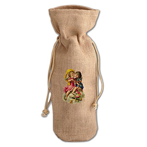 Style in Print Couple Of Angels Valentines Day #2 Burlap ...